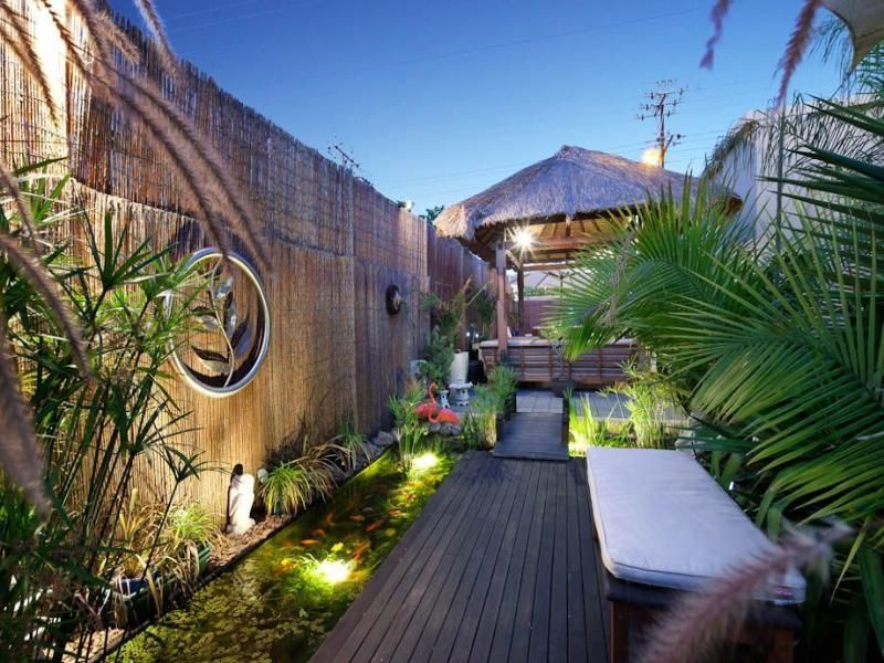 Garden ideas garden designs and photos australian - How to design outdoor lighting plan ...