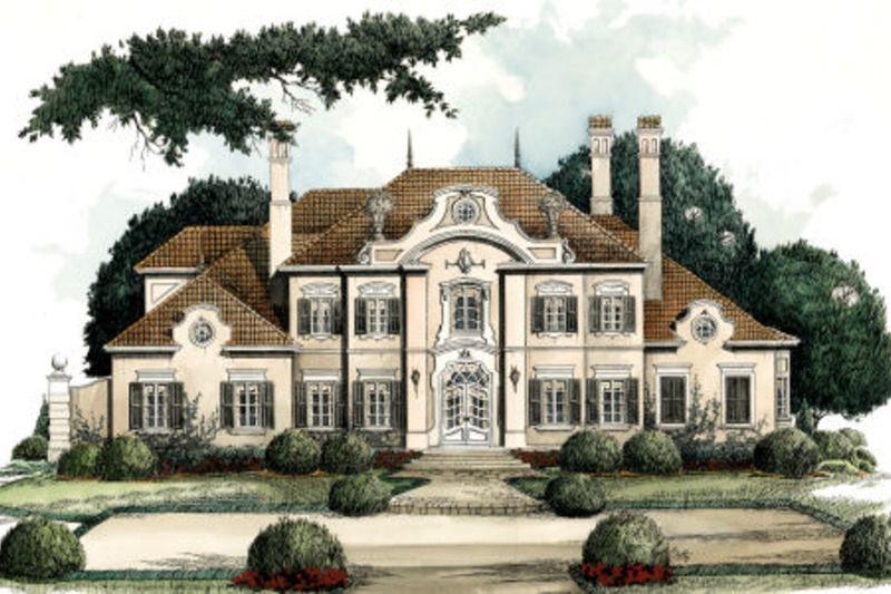 European Style House Plan 4 Beds 3 5 Baths 5235 Sq Ft Plan 429 9 Luxury House Plans Dream House Plans Cottage House Plans