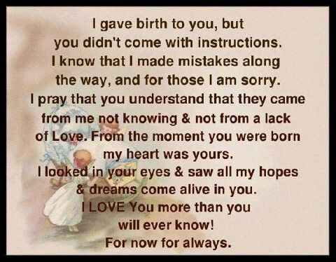 From The Moment You Were Born My Heart Was Yours Inspirational Quotes For Kids Mother Quotes Mom Quotes