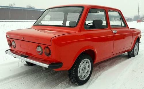 Fiat 128 Rally 1300 Full Restored For Sale 1973 With Images