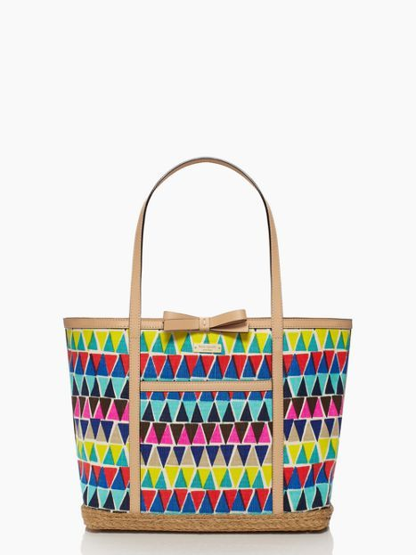 love this bright kate spade tote