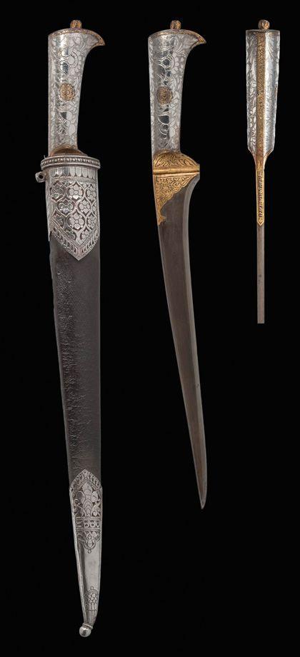 Pesh Kabs Dagger Ca 1725 India Rajasthan Mughal Period Dagger Best Armor Mughal
