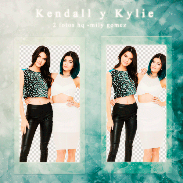 Pack Png De Kendall Jenner Y Kylie Jenner 001 Kendall Jenner Kylie Jenner Kylie