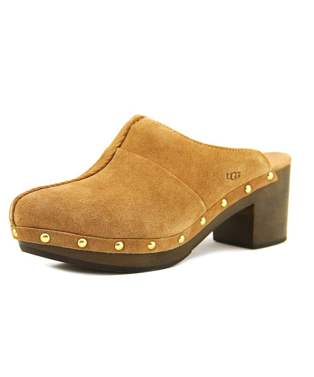 free shipping amazon UGG Australia Round-Toe Suede Clogs sale shop offer cheap sale 100% authentic tumblr sale 2015 BoVdBbGj5N