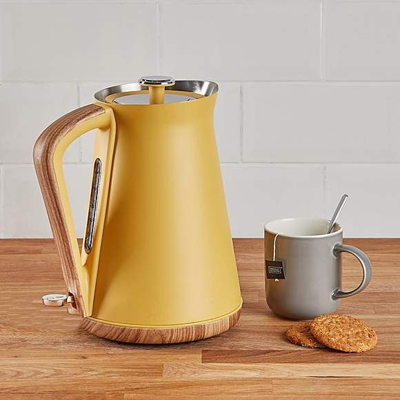 Morphy Richards Bread Bin Roll Top Yellow Accessori Da Cucina
