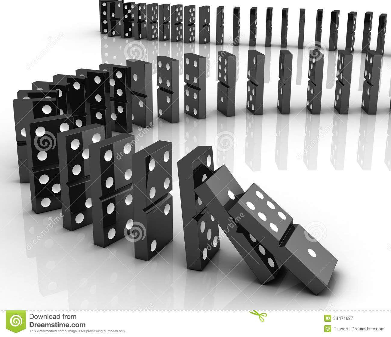 When Dominoes Fall Karma - Video dominoes falling reverse simply mesmerizing