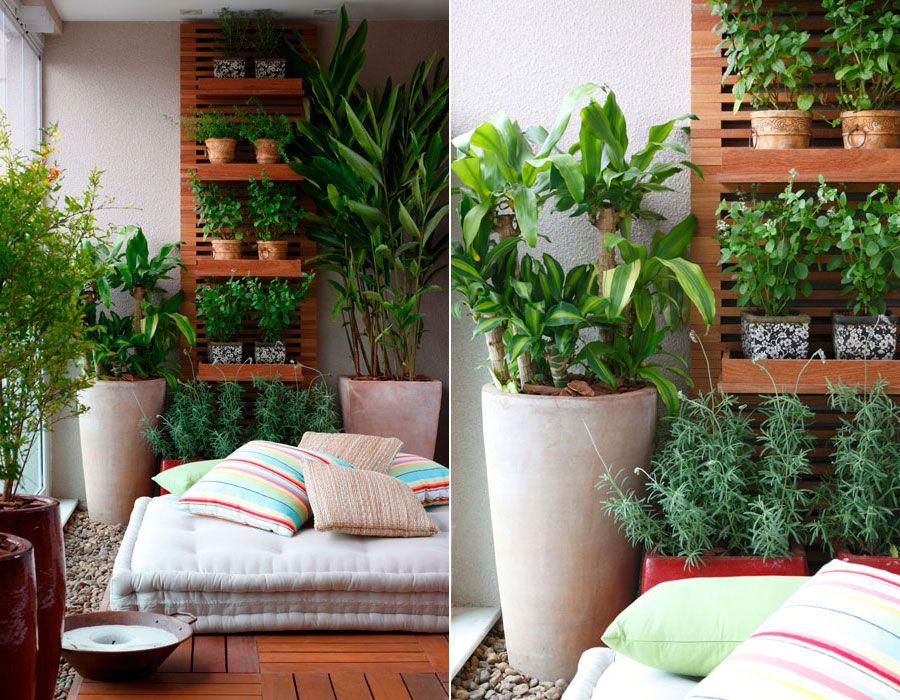 jardim vertical na varanda de apartamento pequeno fotos 2 varandas