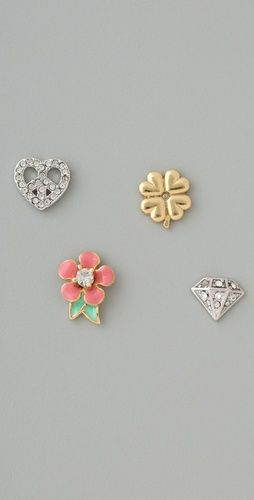 Love the mix and match earrings!