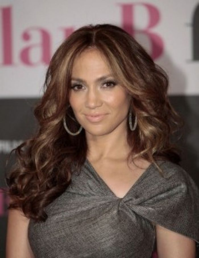 Medium brown hair color with highlightsjlo with medium brown hair hair medium brown hair color pmusecretfo Images