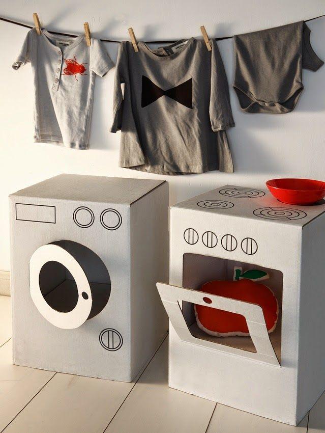 Mi Mundo Me Mola Juguetes De Carton Cardboard Furniture Kids Design Diy Cardboard