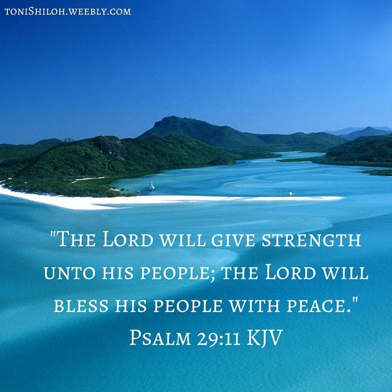 Psalm 29:11 KJV | Favorite Scriptures | Psalm 29, God prayer