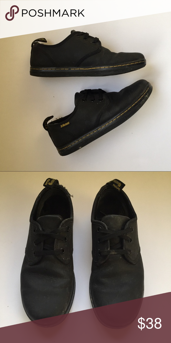 Doc martens Preowned all black doc