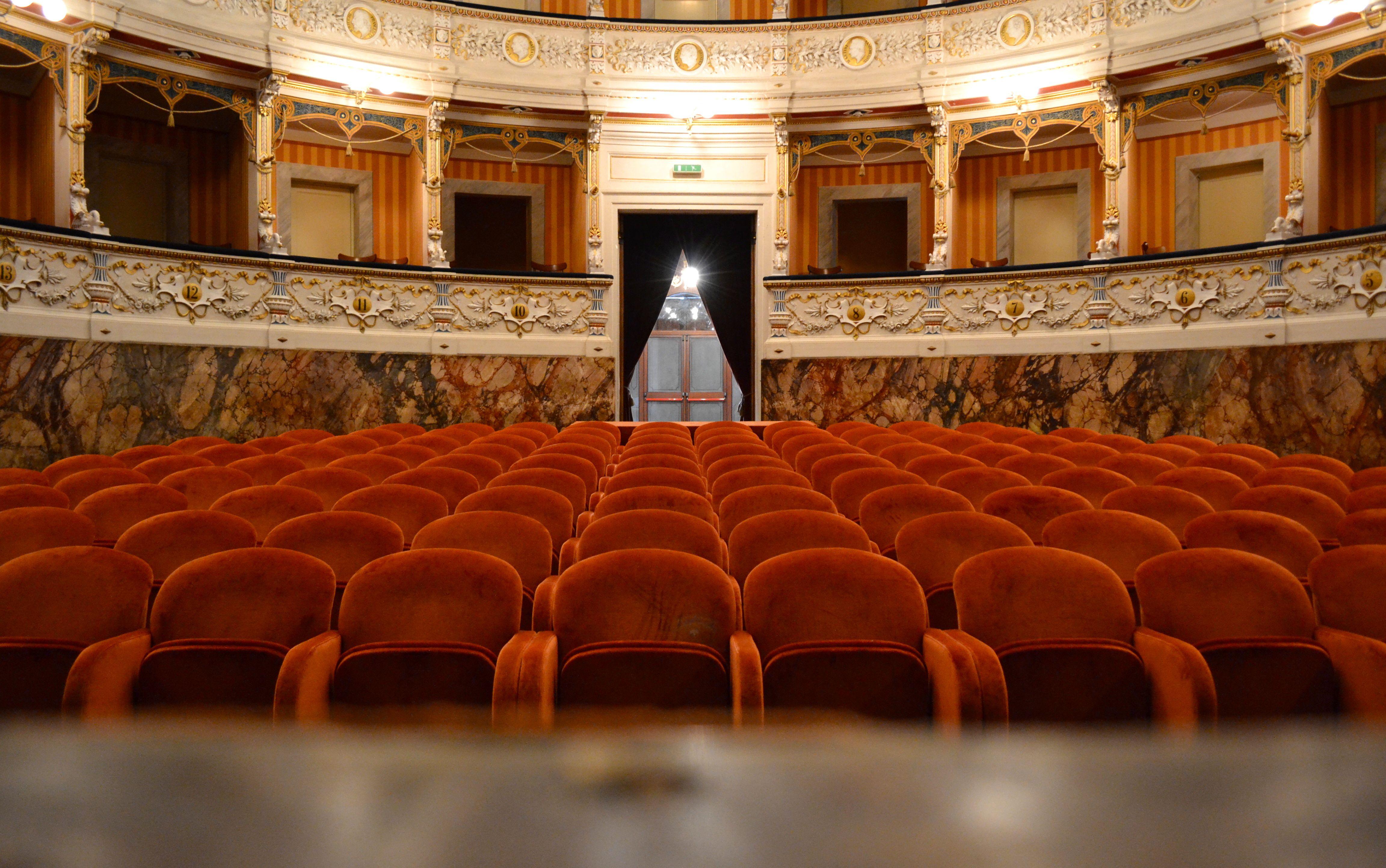 Theater in Cagli, Italy | Museos
