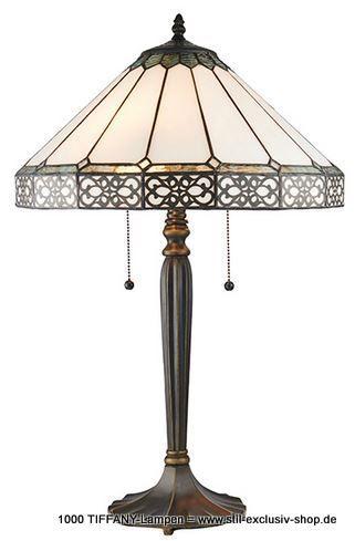 40cm O Zeitlose Tiffany Tisch Lampe Serie Boleyn 40cm O 63cm Hoch 2 X E27 60w Mit Praktischer Zug Schaltun Mit Bildern Tiffany Lampen Art Deco Lampen Lampen