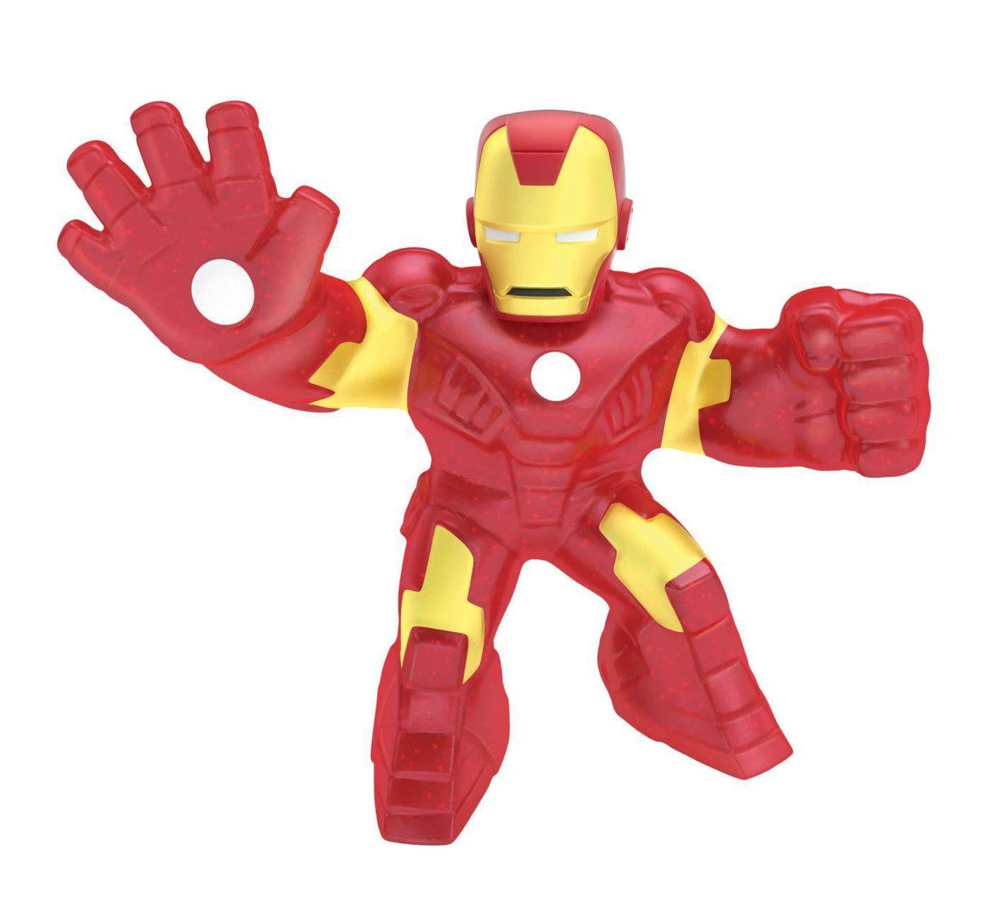 Moose Marvel Heroes Of Goo Jit Zu Captain America Stretchy Gel Action Figure