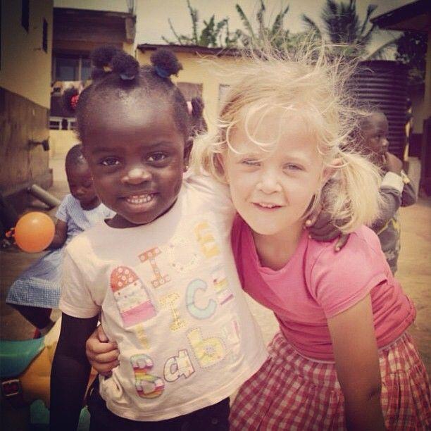 Vrijwilligerswerk in Ghana met het hele gezin! Een fantastische ervaring.