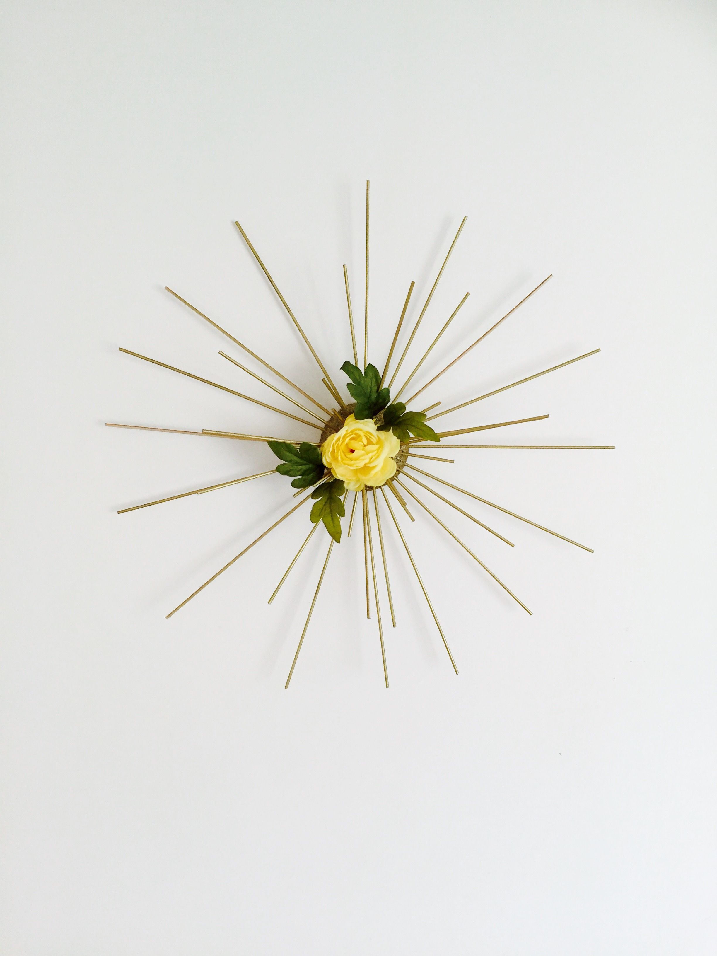 Spring sunburst new craft ideas pinterest craft