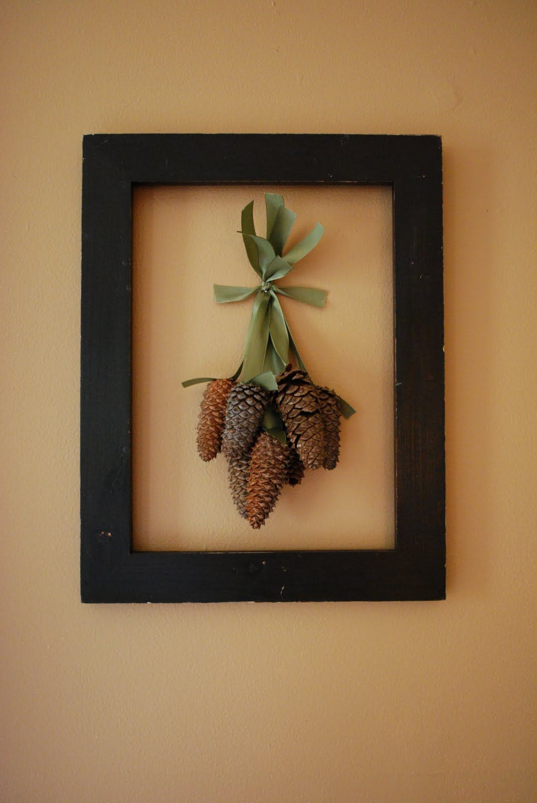 Photo of Craftaholics Anonymous® | Tutorial Week: Framed Pine Cones