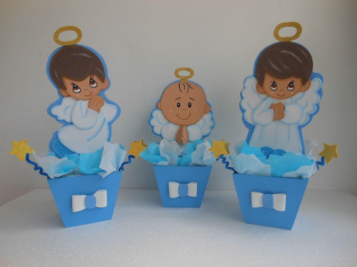 Centros de mesas infantiles baby shower bautizos bs 650 00 en babyshower bautizos - Como hacer centros de mesa para bautizo ...