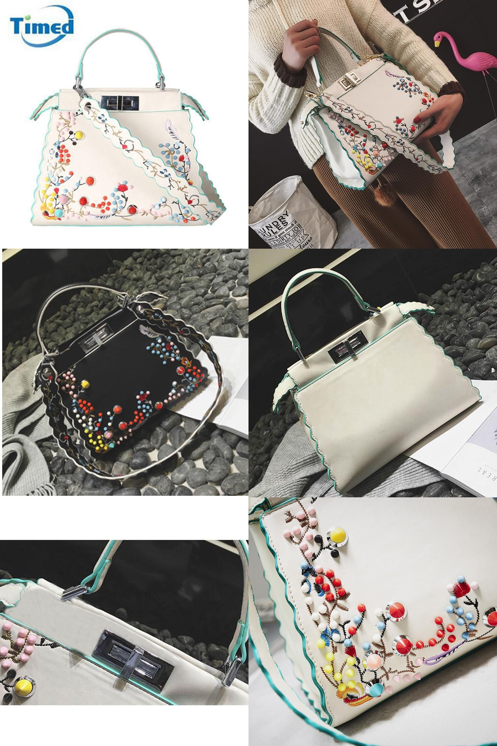 5475770ee2f Visit to Buy] 2017 Europe Style New Women PU Leather Embroidery ...