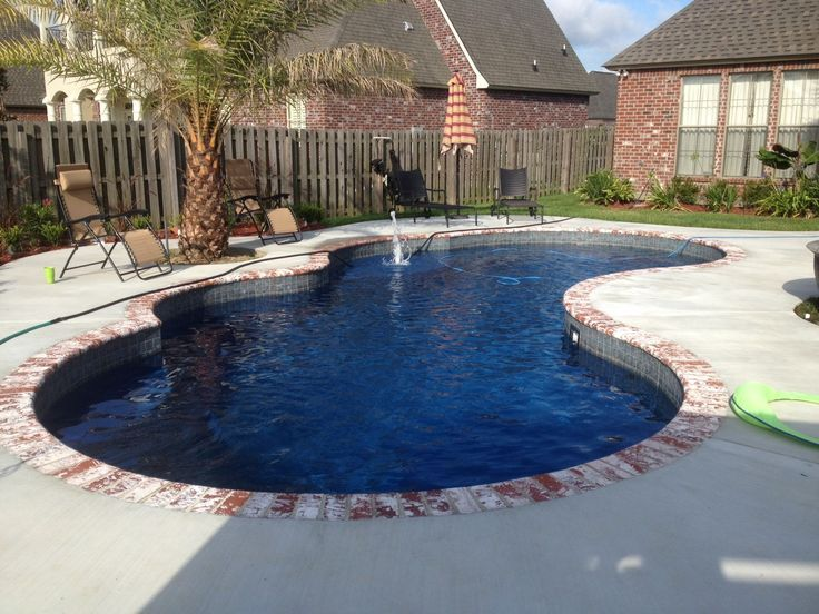 Central pools inc baton rouge louisiana trilogy fiberglass pools gemini for Homes for sale in baton rouge with swimming pools