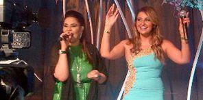أحيت النجمة العراقية شذى حسون بفستان أزرق وذهبي حفل زفاف خاص في…