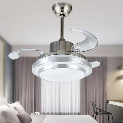 Ultra Quiet 42 Hidden Blade Ceiling Fan Lamps 110 240v 48w