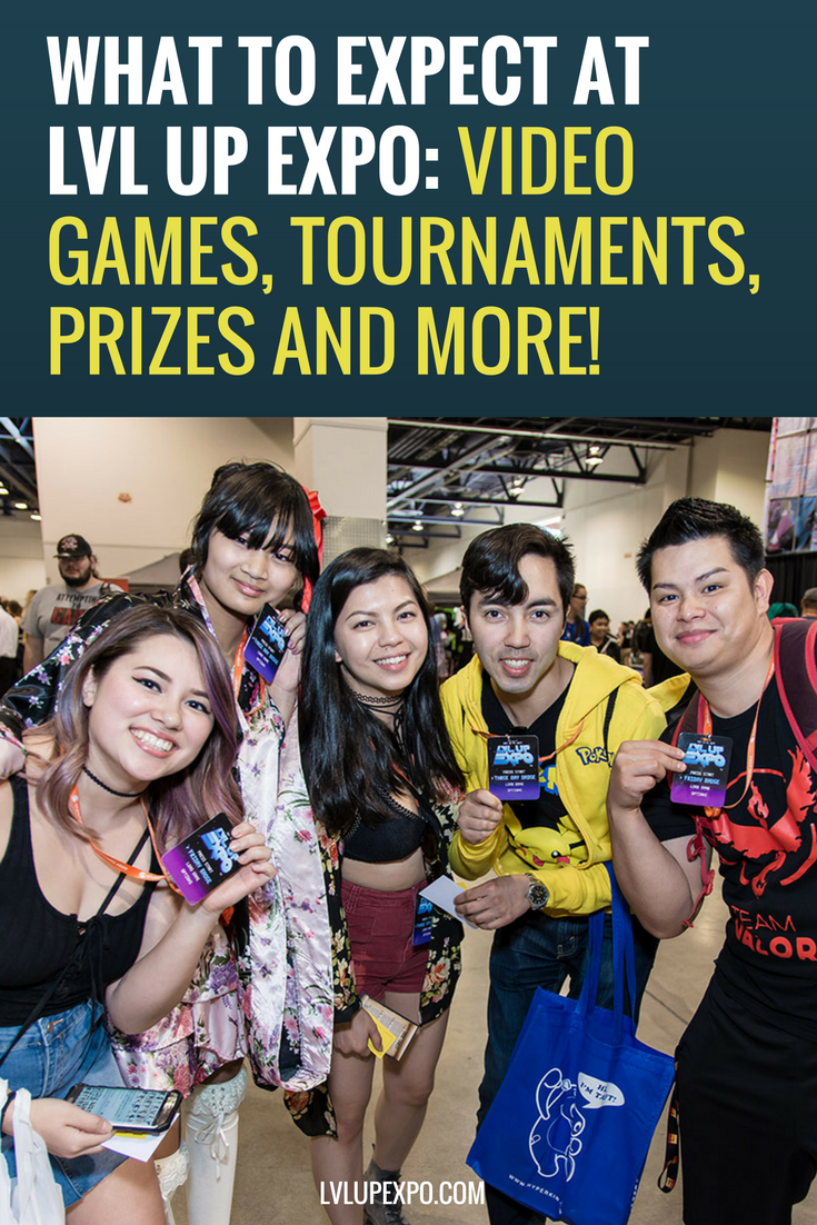 What to Expect at LVL Up Expo Video Games, Tournaments