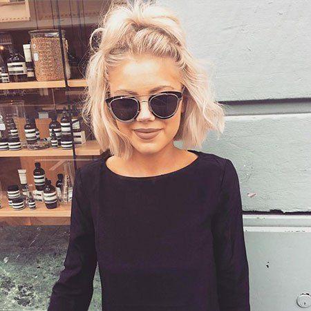 Photo of Popular Short Blonde Hair 2018 – Madame Hairstyles