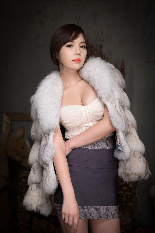 Sexy Korean Model Kim In Ae in White! | Asian Gallery