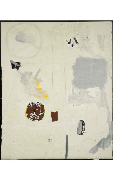 Jean-Michel Basquiat - Untitled (Everybody's Two Cents), 1984