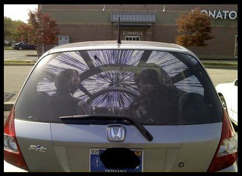 Very Cool Star Wars Car Decal For The Rebellion Pinterest - Star wars car decals