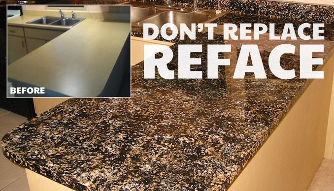 Diy Countertop Resurfacing Kits Crystaltopoverlay Com Great