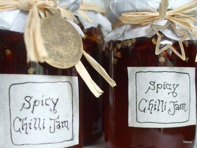 jelly jar gift decorating ideas next i ll try a recipe for chilli