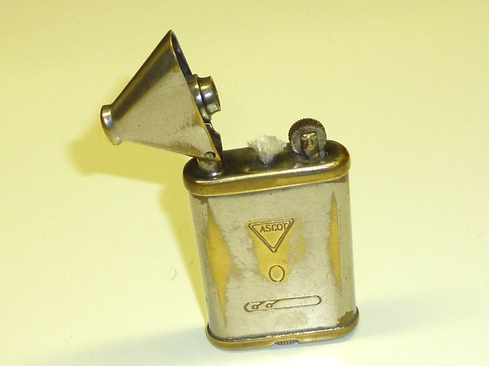 Ascot Vintage Pocket Lighter Quotgas Water Heaters Ltd