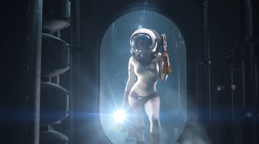 naked girls in outer space