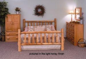 Save On Log Cabin Bedroom Furniture Set   Free Shipping, Quality Log  Furniture In Cedar