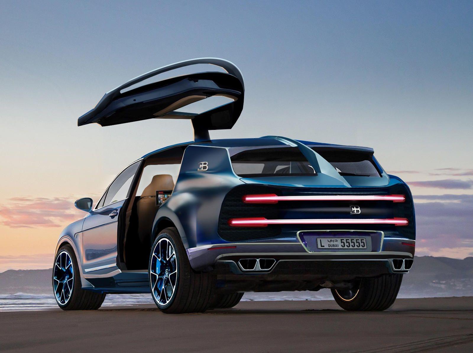 Bugatti Could Be Creating A Chiron Based Hyper Suv Bugatti Suv