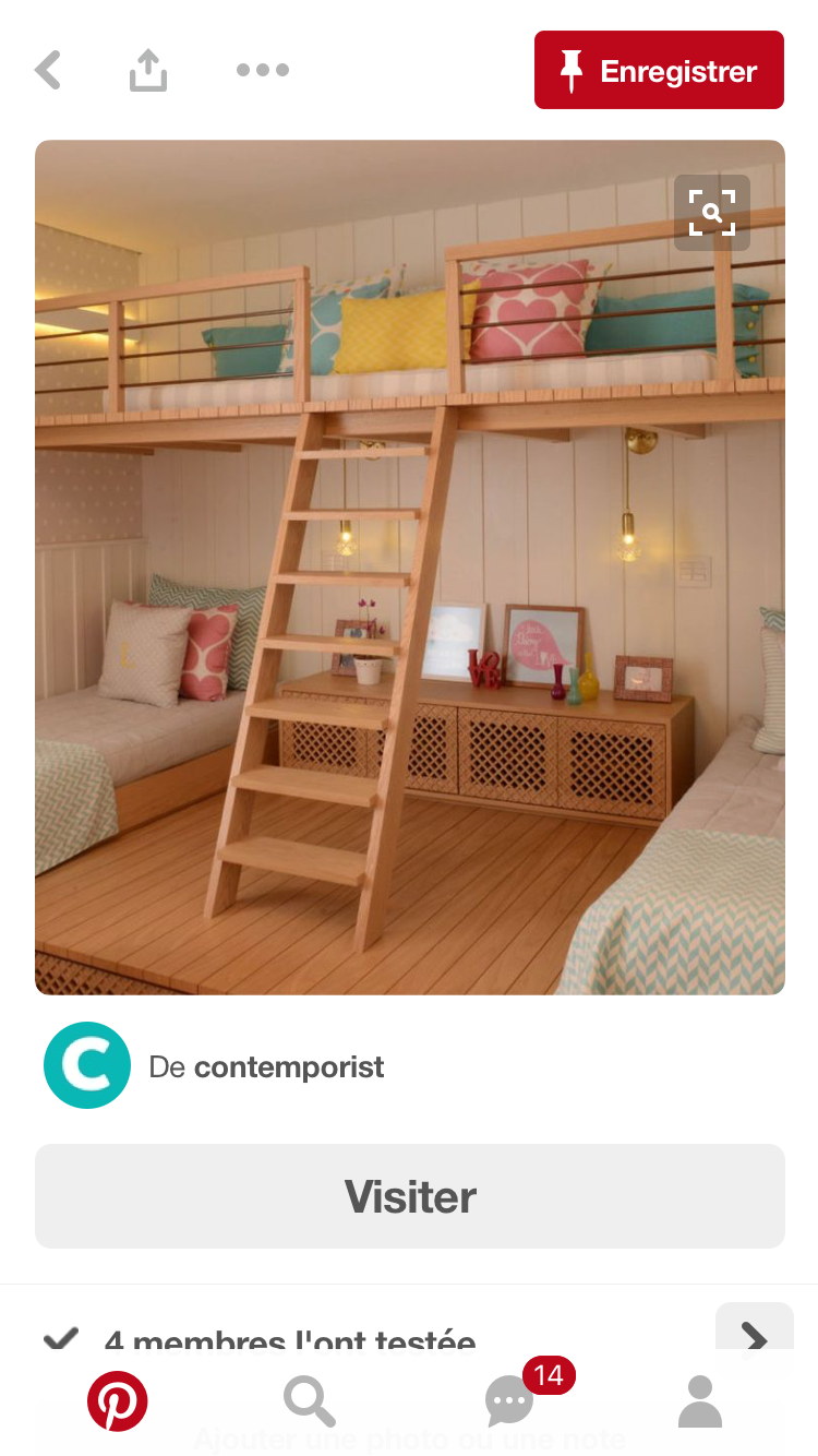 Loft bed privacy ideas  Pin by Carolina Fernandez on niñas  Pinterest  Room Bedroom and
