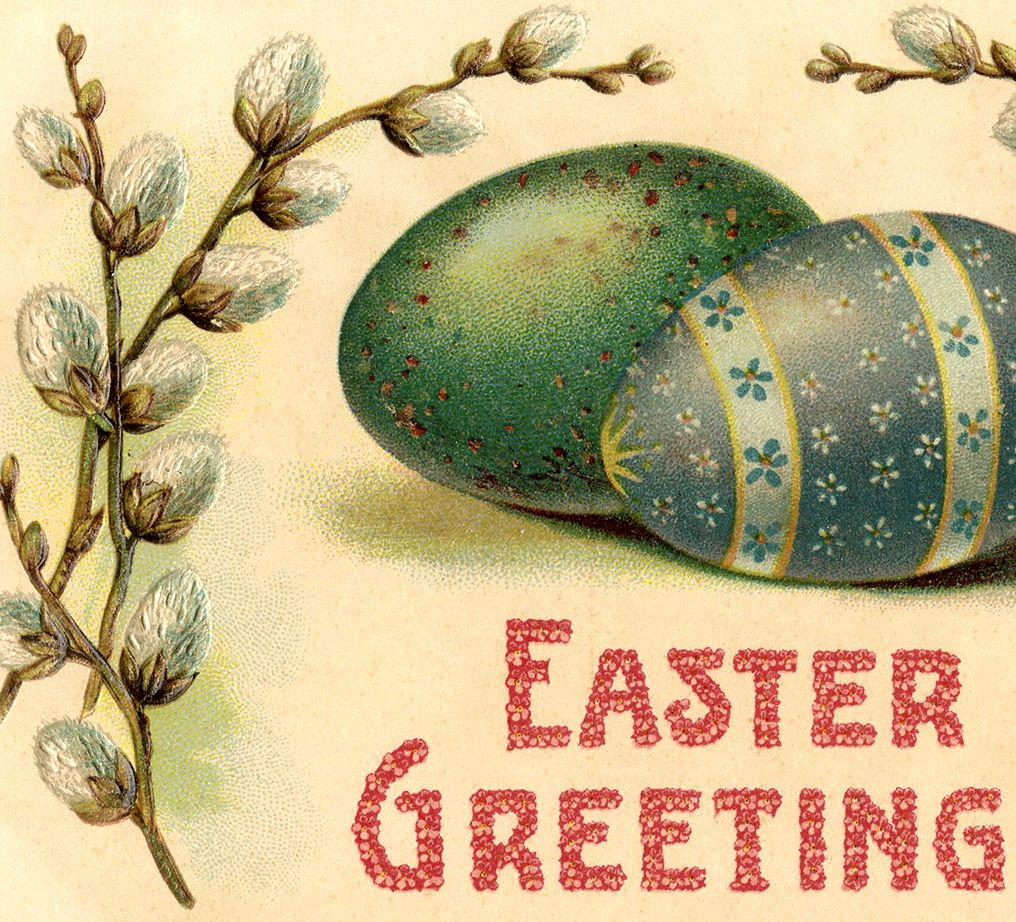 Fancy Easter Eggs Image