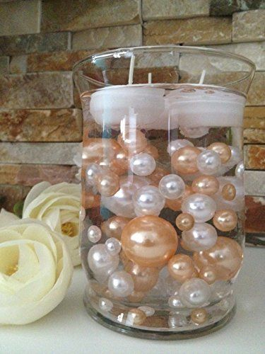 Vase Filler Pearls For Floating Pearl Centerpieces 80 Pe Https