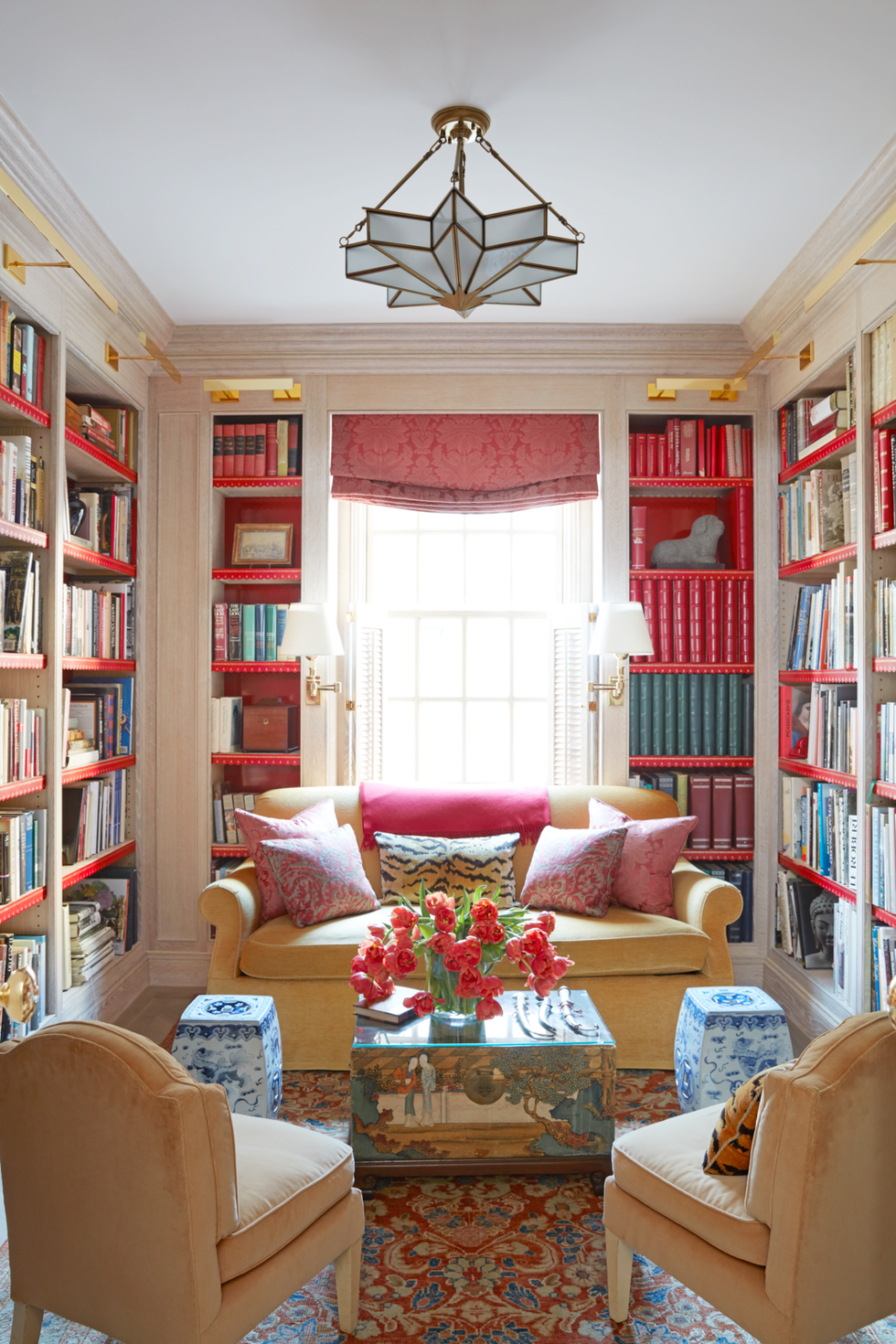Interior Design Home Library: 15 Stylish Home Libraries You'll Want To Cozy Into