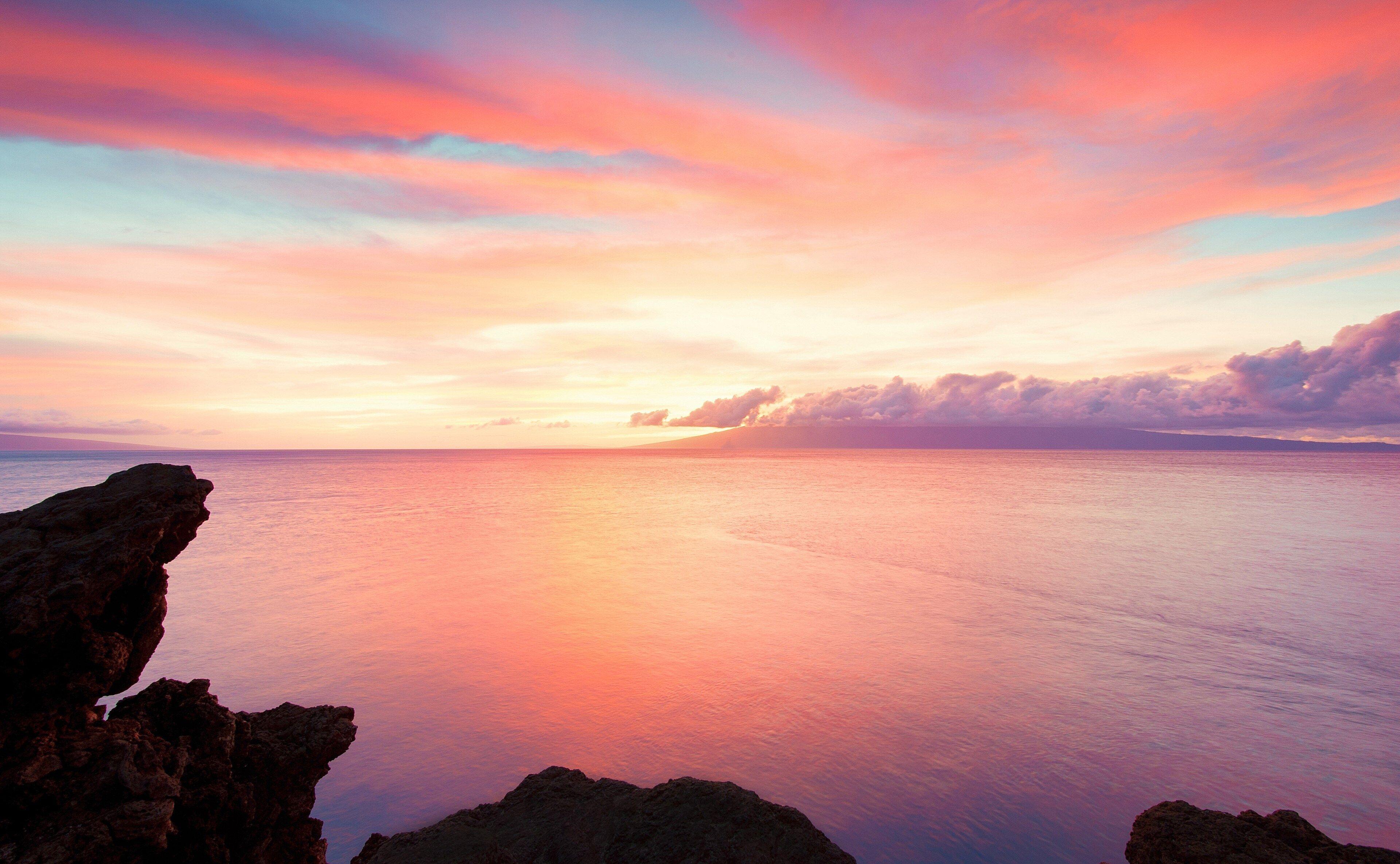 3840x2370 Sea 4k Free Full Hd Wallpaper Sunset Wallpaper