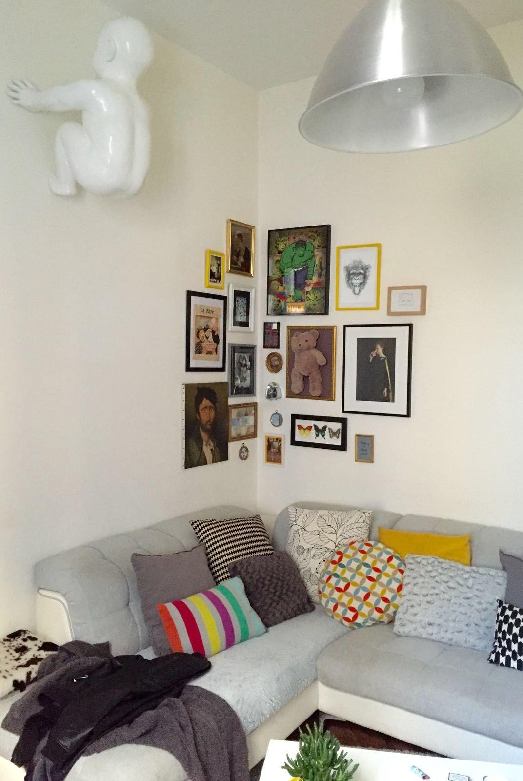 Pin by athina giova on Living room | Wall decor bedroom ... on Creative Living Room Wall Decor Ideas  id=98112