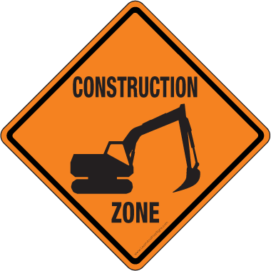 graphic relating to Construction Signs Printable titled Printable Structure Indications Illustrations or photos - ClipArt Perfect
