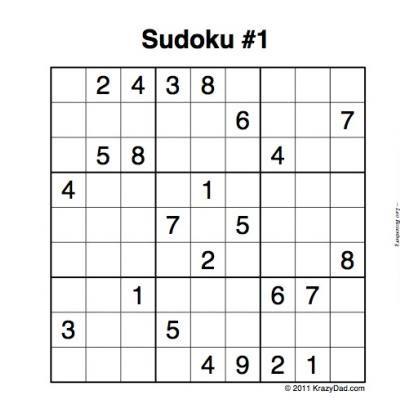 Good Morning Sudoku