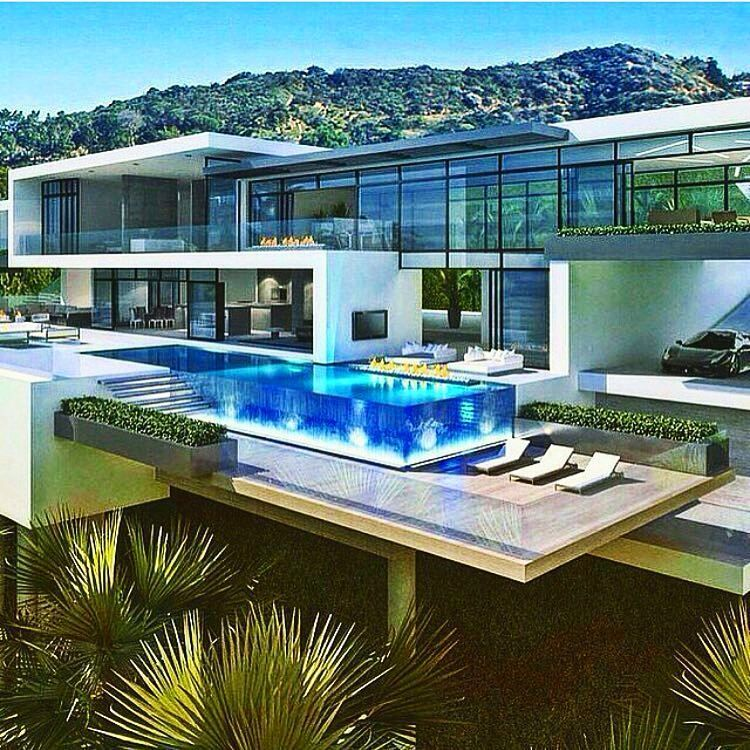 Instagram Luxury Homes Dream Houses Modern Mansion Mansions