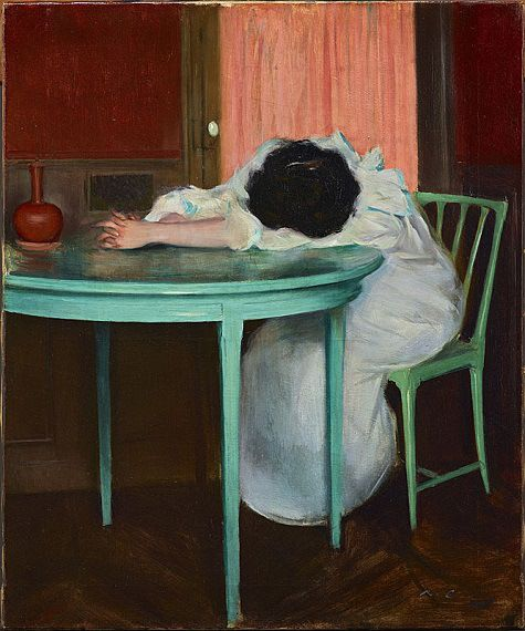 ramon-casas-tired-fatiguc3a9e-c-1895-1900-oil-on-canvas-dallas-museum-of-art-foundation-for-the-arts-collection-mrs-john-b-ohara-fund.jpg (475×570)