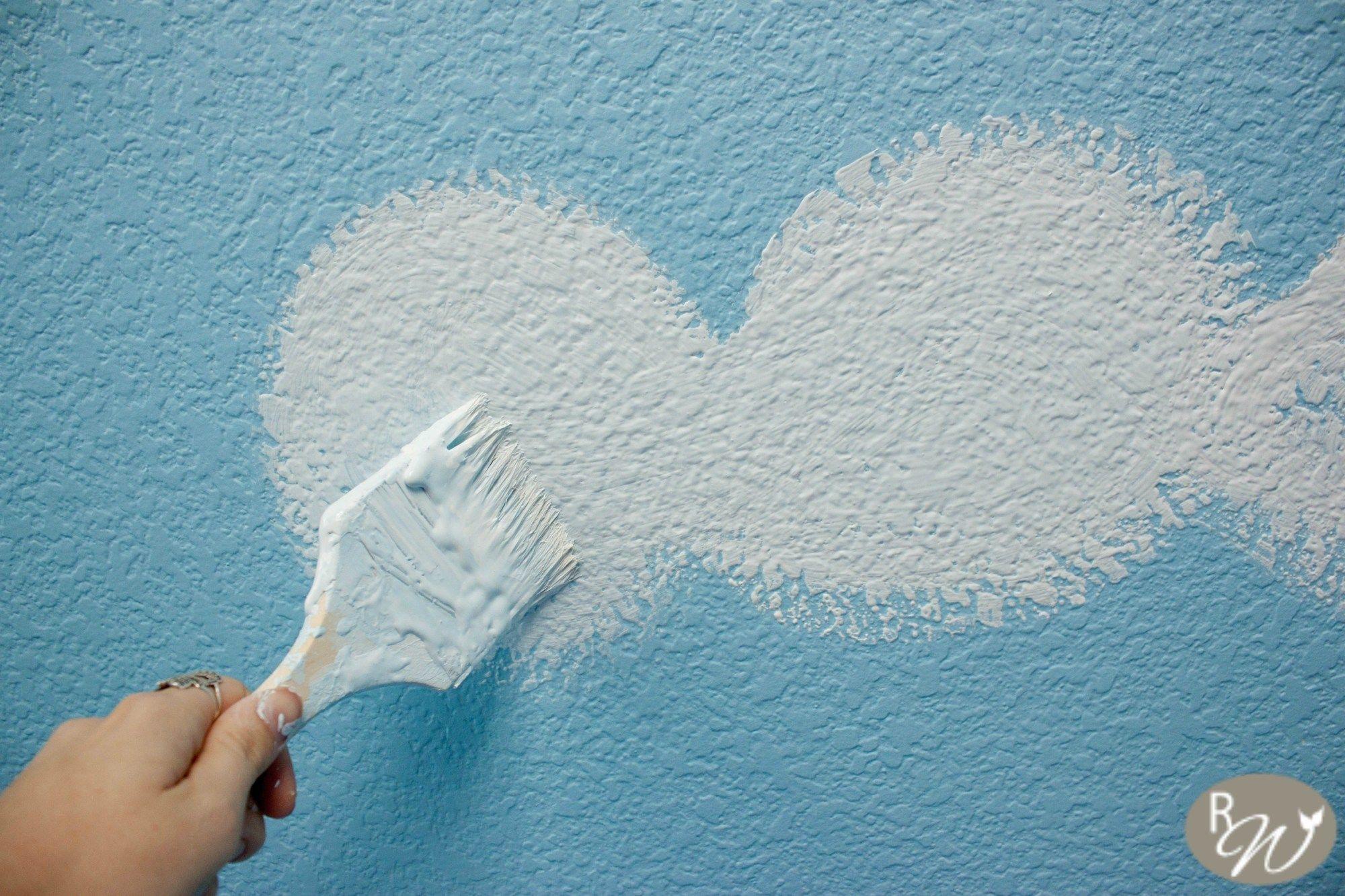 DIY Cloud Ceilingthe easy way Cloud ceiling, Ceiling, Diy