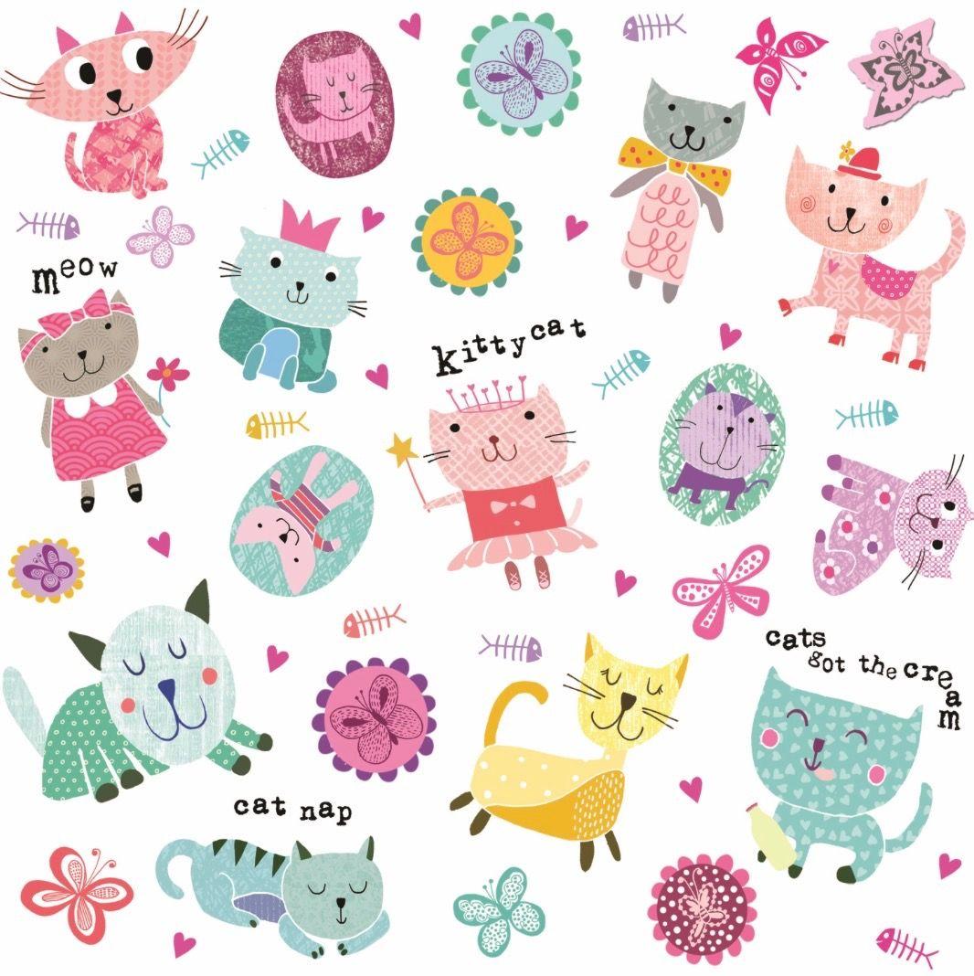 Kitty Cat Pattern / Tracy Cottingham